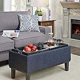 Convenience Concepts Brentwood Storage Ottoman