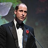 Prince William London Evening Standard Theatre Awards 2016
