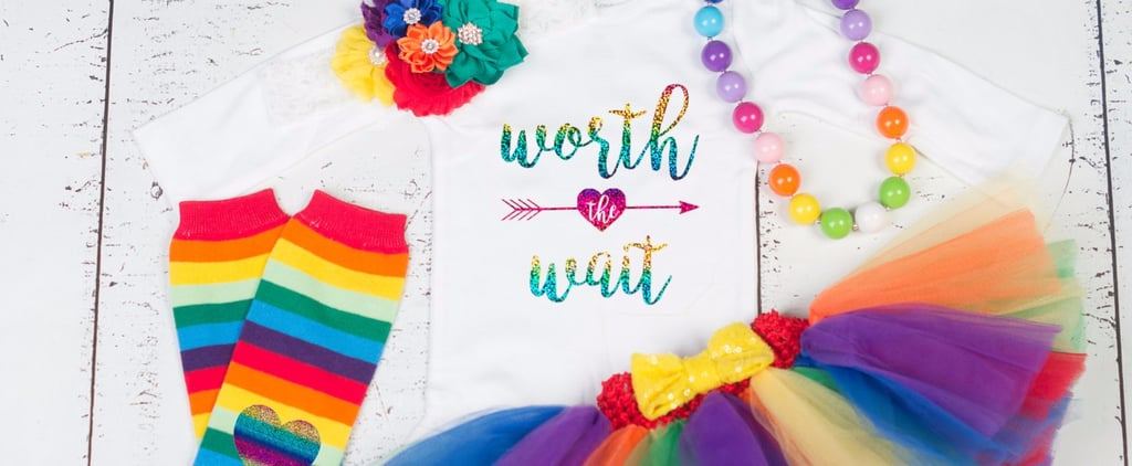 20 Amazing Rainbow Onesies For a Beloved New Baby