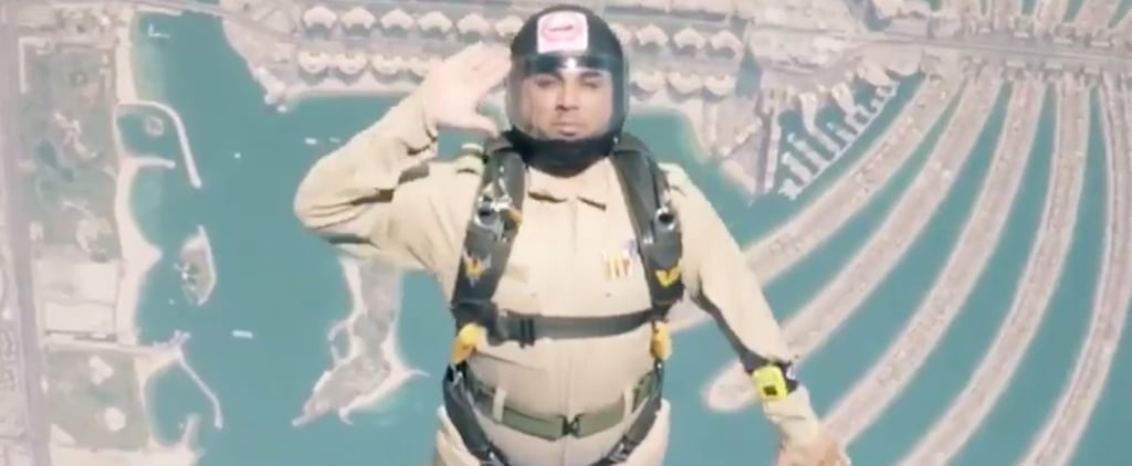 Dubai Police Literally Took the Fitness Challenge to New Heights