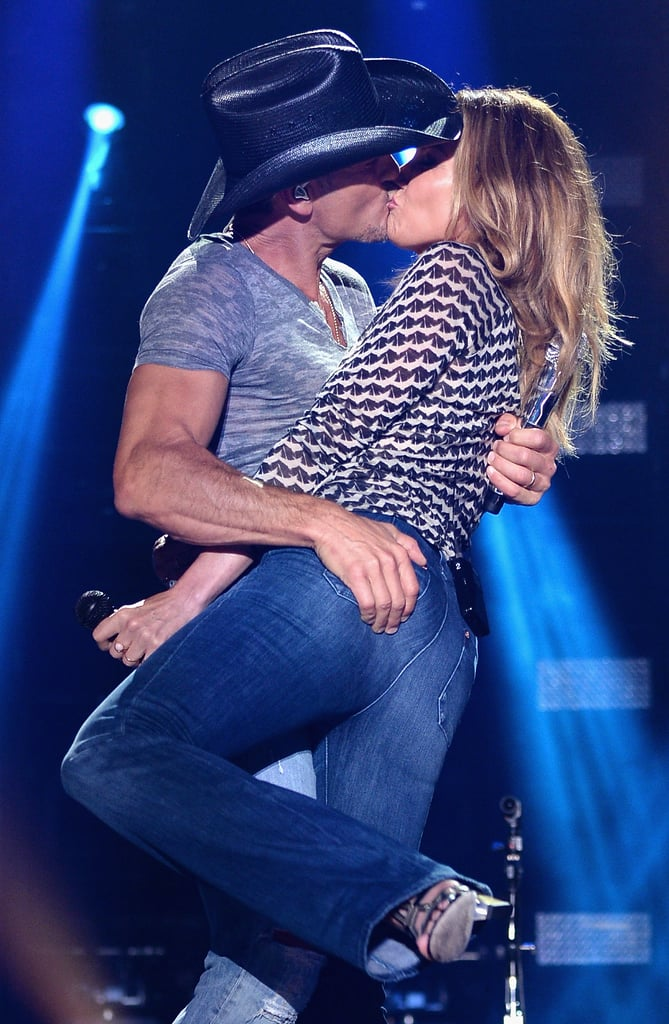Faith Hill and Tim McGraw Are Still Madly in Love, and Here's the PDA That Proves It