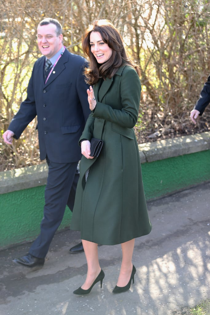 The Duchess of Cambridge's Green Sportmax Coat