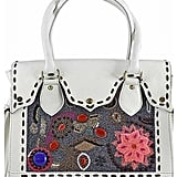 Vintage Addiction Hand Beaded and Embroidered Leather Bag ($599)