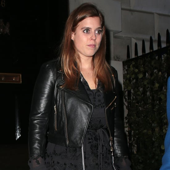 Princess Beatrice's Black Leather Jacket