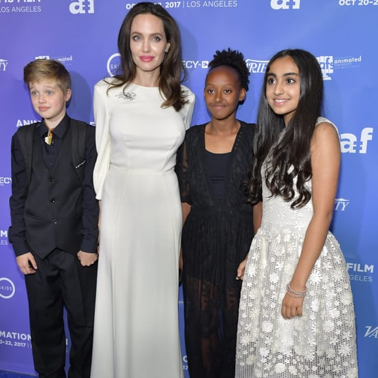 Angelina Jolie With Her Daughters on the Red Carpet 2017