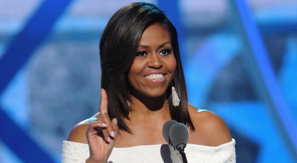 Michelle obama collage