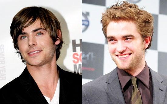 Zac Efron Movie News and Robert Pattinson Movie News