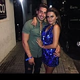 Amber Davies and Kem Cetinay  — 2017