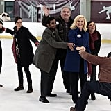 Best Teamwork: Parks and Rec Takes the Ice