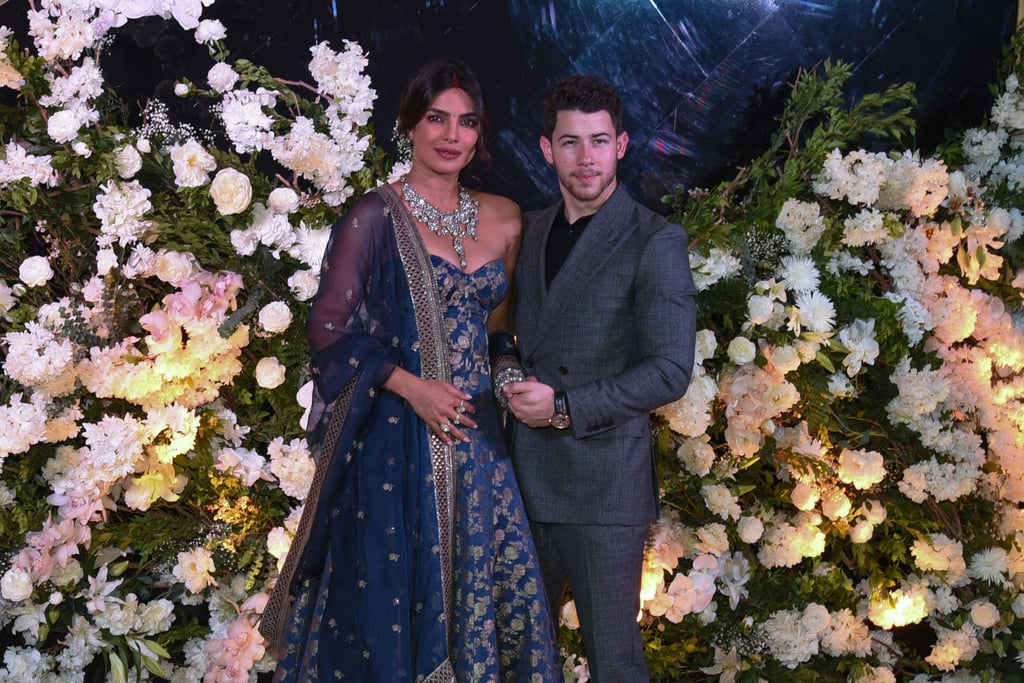 Nick Jonas And Priyanka Chopras Mumbai Wedding Reception Popsugar