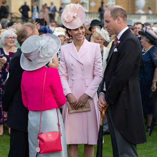 Kate Middleton Pink Alexander McQueen Coat Dress May 2019