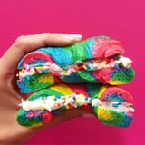You Don't Have to Travel to New York to Taste Rainbow Bagels Thanks to This Recipe
