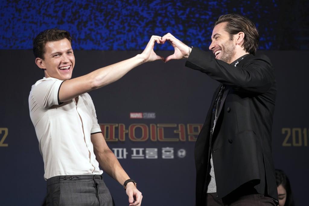Image result for jake gyllenhaal and tom holland