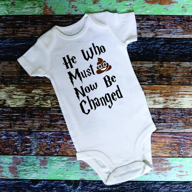 He Who Must Now Be Changed Onesie