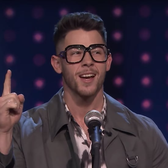 "Watch Nick Jonas Play ""Slay It, Don't Spray It"" on Fallon"