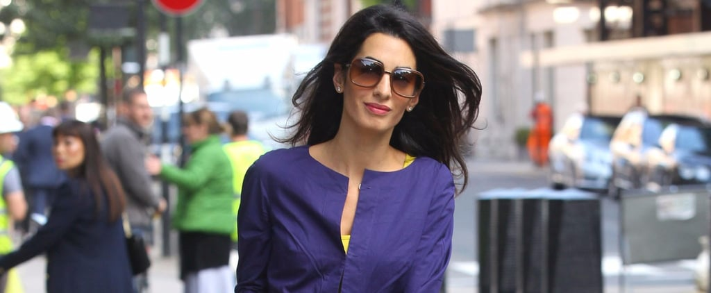 14 Pictures That Prove Amal Clooney's Off-Duty Look Is Undeniably Boho