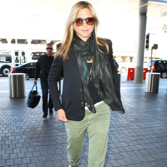 Jennifer Aniston Airport Style