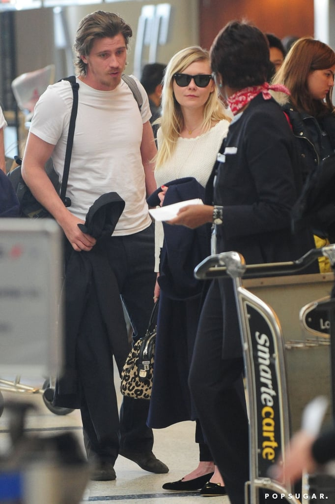 Kirsten Dunst and Garrett Hedlund Pair Up For a Parisian Trip