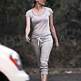 Diane Kruger ready for a hike.