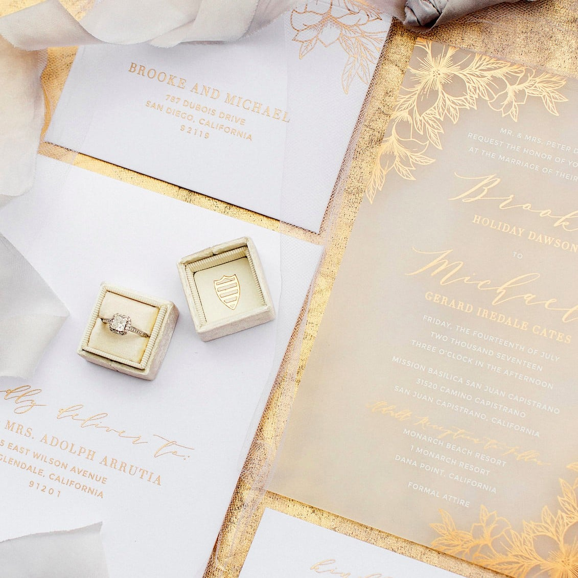 Acrylic Wedding Invitations POPSUGAR Love Sex