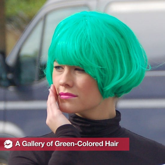 Pictures of People With Green Hair