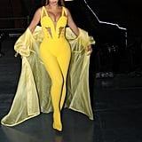 Beyoncé Yellow Versace Jumpsuit 2018 Global Citizen Festival