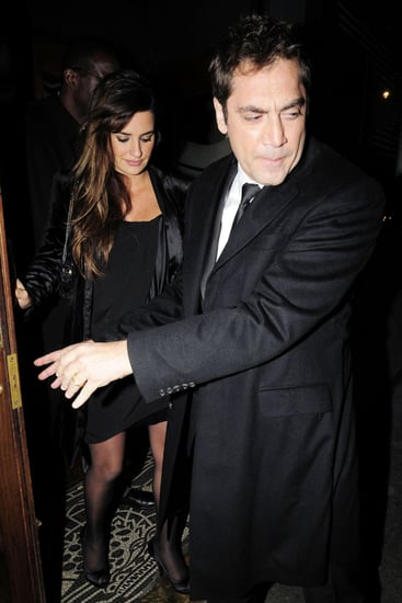 Pictures of Pregnant Penelope Cruz and Javier Bardem at London Film Festival
