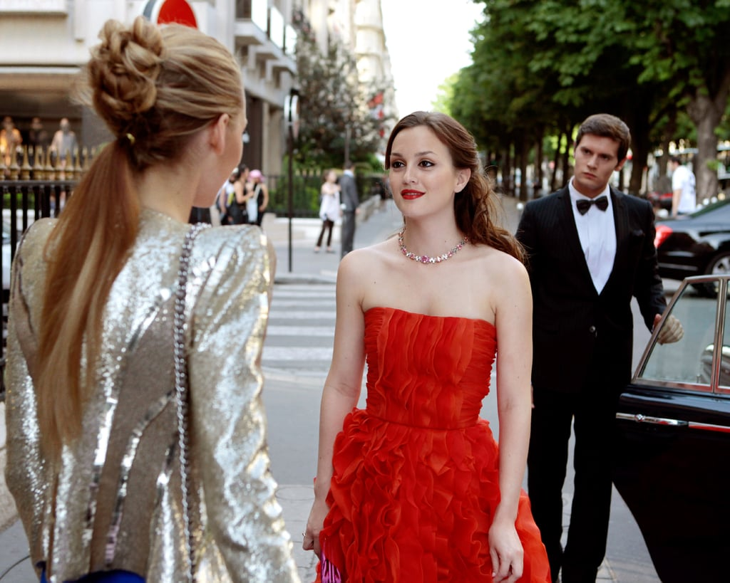 Blair's Strapless Gown