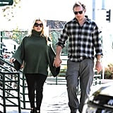 Jessica Simpson and Eric Johnson went on an LA coffee run together.