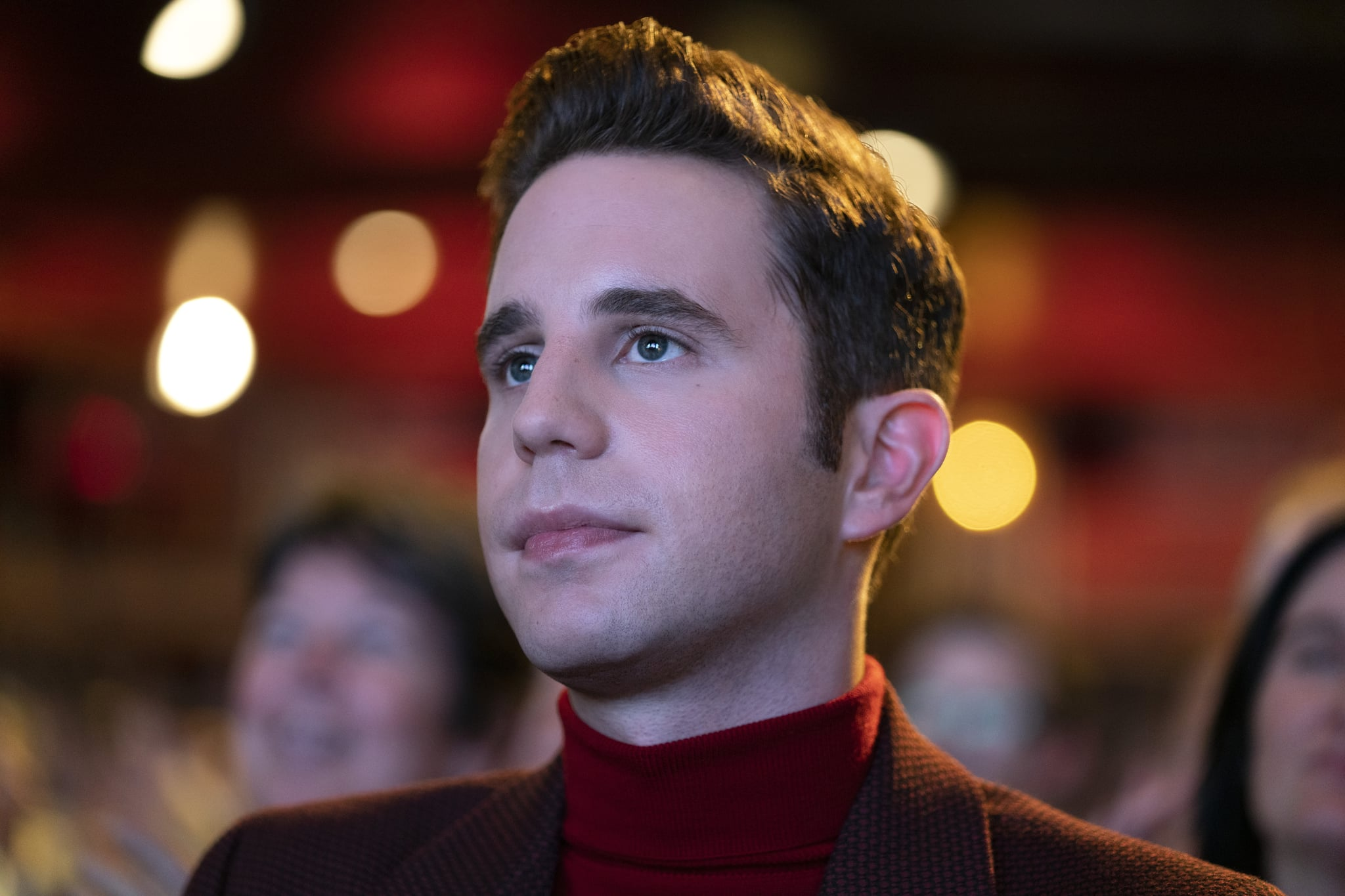 THE POLITICIAN BEN PLATT as PAYTON HOBART in episode 201 of THE POLITICIAN Cr. NICOLE RIVELLI/NETFLIX  2020