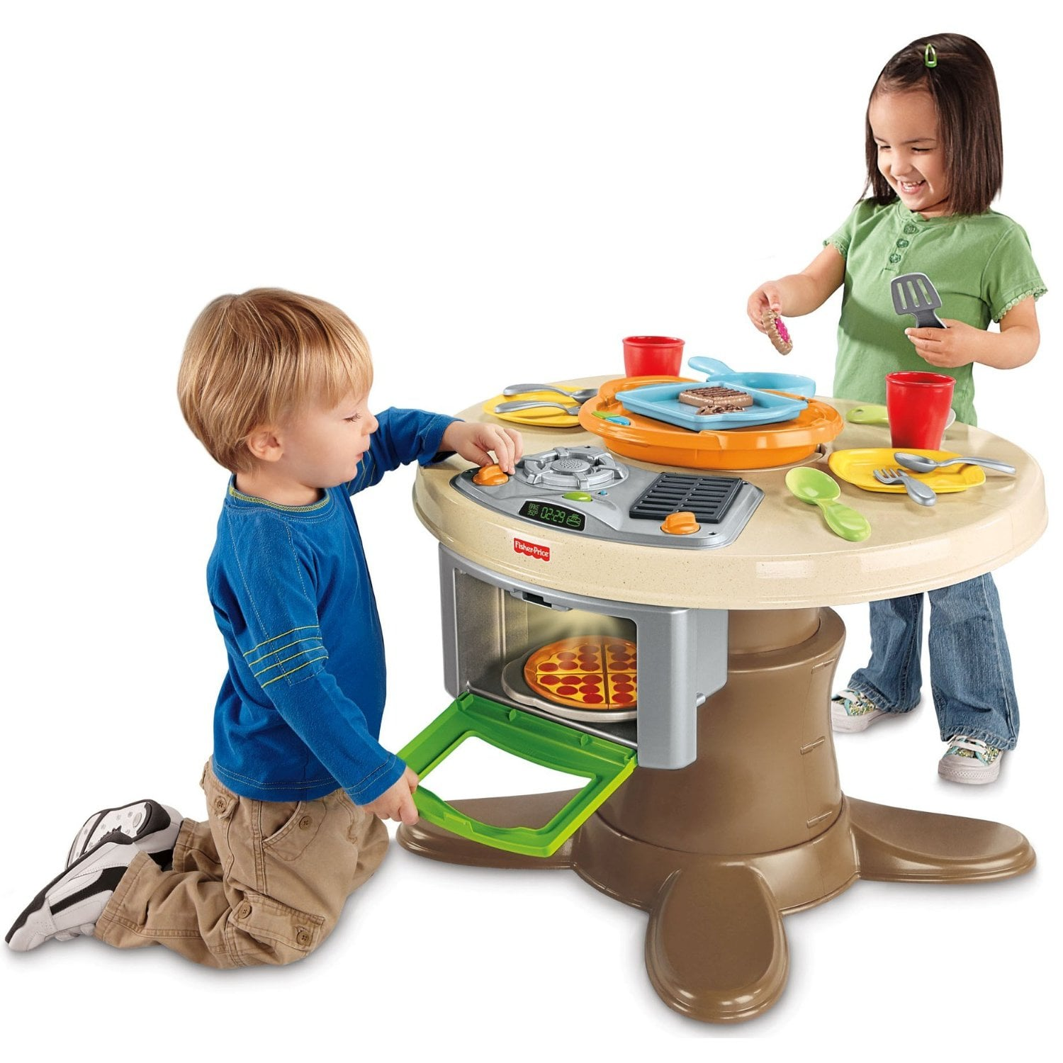 Fisher-Price Servin\' Surprises Kitchen & Table | The 50+ ...