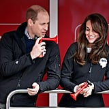 Prince William at 2017 London Marathon Pictures