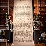Hanging Vows