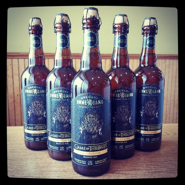 Iron Throne Blonde Ale