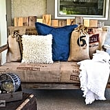 Upcycle Your Crib Mattress Into a Pallet-Board Sofa