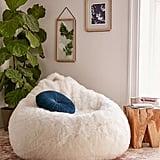 Aspyn Shag Bean Bag Chair ($198)