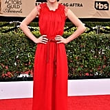 Millie Bobby Brown at the SAG Awards in 2017