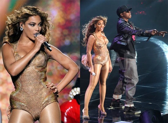 Photos of Beyonce Knowles and Jay-Z Performing a Duet at Madison Square Garden