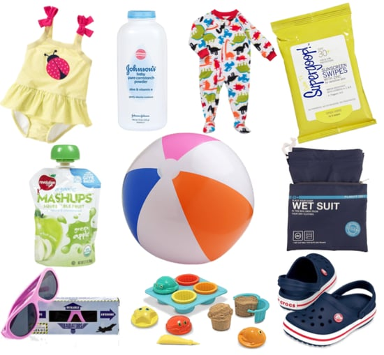 How to Pack For the Beach With a Toddler