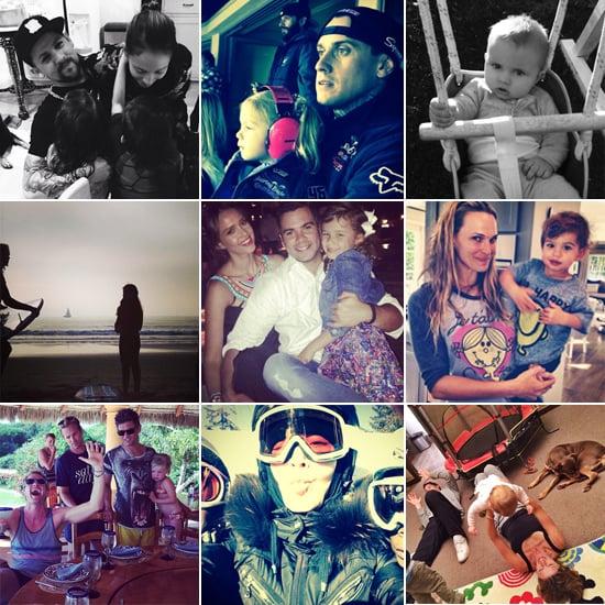 Celebrity Moms' Instagram Pictures Week of Jan. 5, 2014