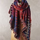 Anthropologie Ladder Trace Scarf
