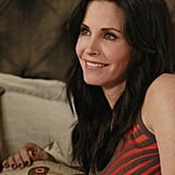 Courteney Cox on Cougar Town.