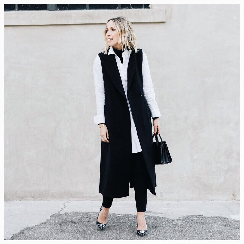 Style Your Dress Over Tailored Pants