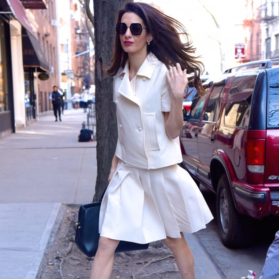 Amal Clooney Jimmy Choo x Off-White Heels