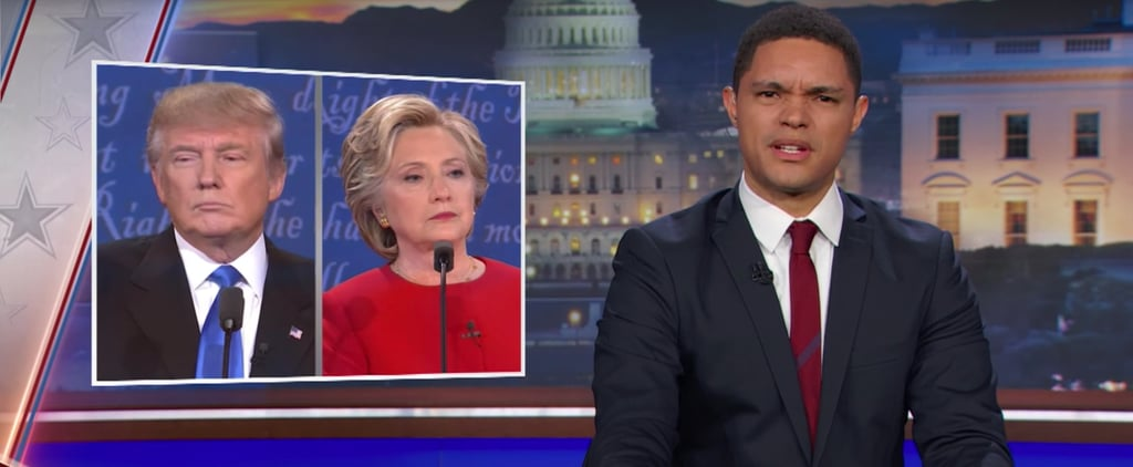 Trevor Noah Hilariously Called Out the First Lie of Last Night's Debate