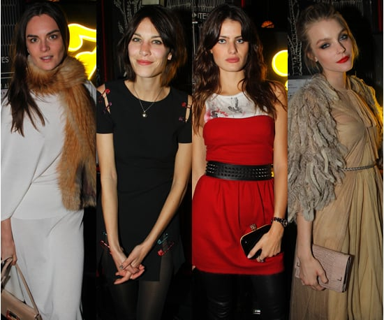 Models and Celebs Flock to Fendi Party in Paris For Fashion Week