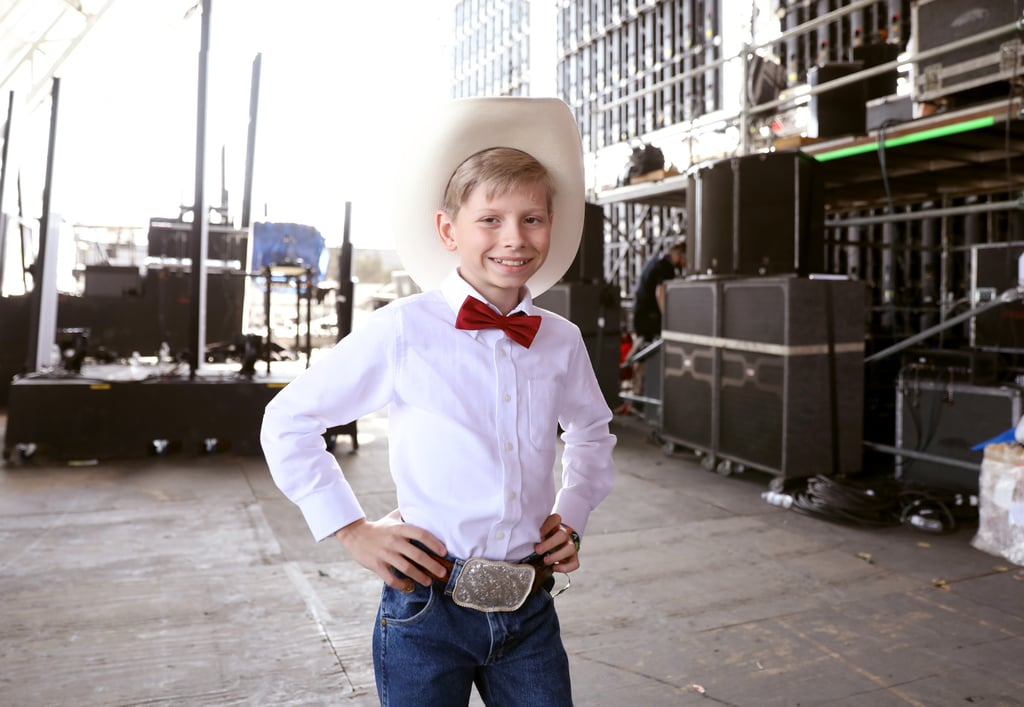 "It's basically impossible to forget the greatest meme of 2018. Mason Ramsey became an internet sensation, seemingly overnight, when he stepped out in a Walmart in Harrisburg, IL, to show off his yodeling chops.  The 11-year-old country crooner won our hearts (and the hearts of celebrities everywhere) with his rendition of ""Lovesick Blues"" and ended up visiting The Ellen DeGeneres Show, performing at Coachella, and releasing his debut EP. Cool, we were totally doing those things in middle school too . . .  If you're in the mood to pay tribute to the boy who broke the internet, we have you covered. You'll have the ""lovesick blues"" no more once you've pieced together a Walmart Yodel Boy Halloween costume. Check out the essential pieces we've rounded up ahead that will make your costume complete."