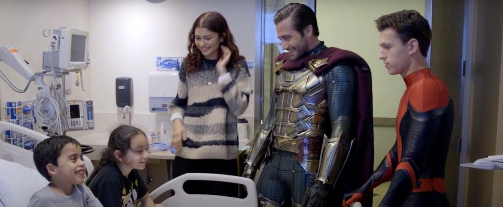 Spider-Man Cast at Children's Hospital Los Angeles
