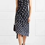 Peter Pilotto Cadi One-Shoulder Printed Crepe Dress