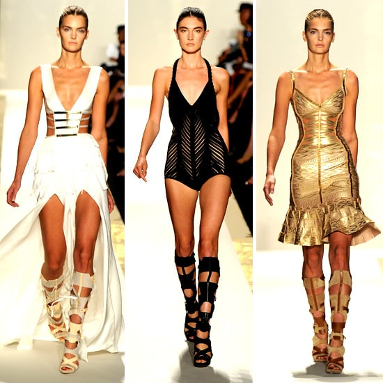 Herve Leger By Max Azria Spring 2012 Popsugar Fashion
